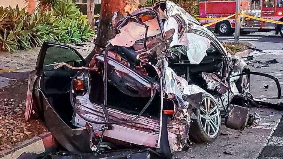 Los Angeles fatal crash, 23 February