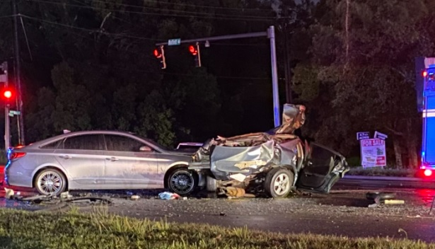 vehicle crash in Moffett Road, Alabama