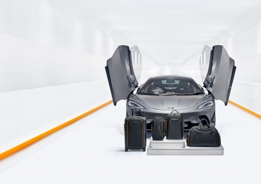 TUMI reveals premium capsule luggage and travel collection inspired by McLaren
