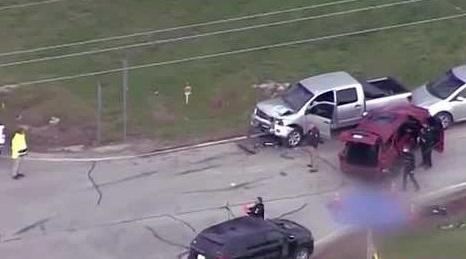 crash near Gardner, Kansas