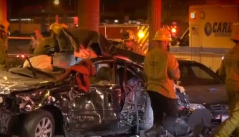Three dead in Florence-Graham, South Los Angeles crash
