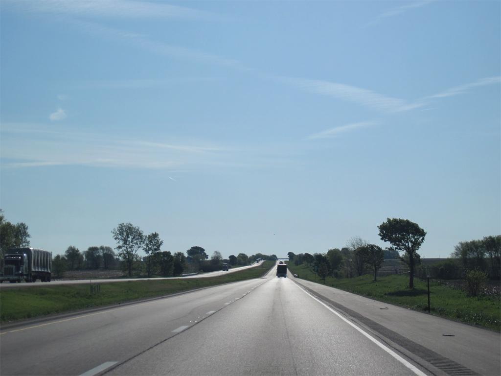 I-80, Bureau County