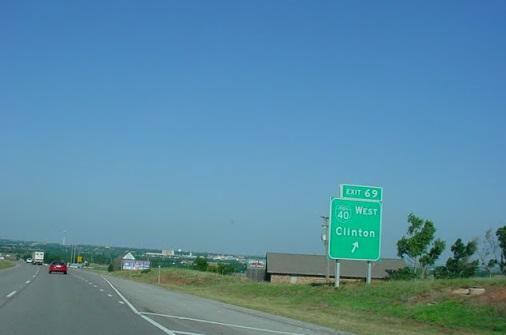 I-40, Clinton