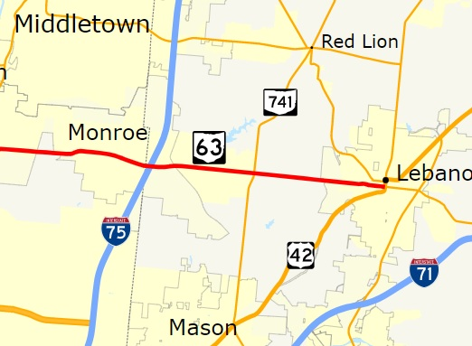 Ohio 63, Monroe