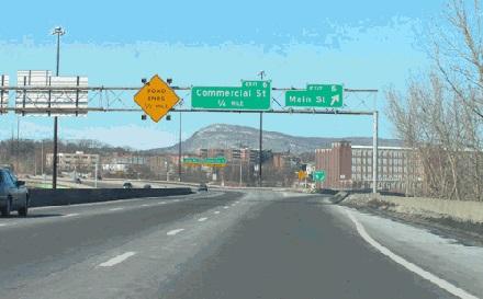 I-391, Massachusetts