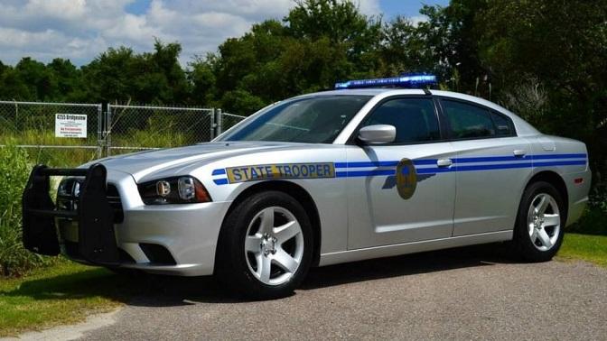 South Carolina state trooper car