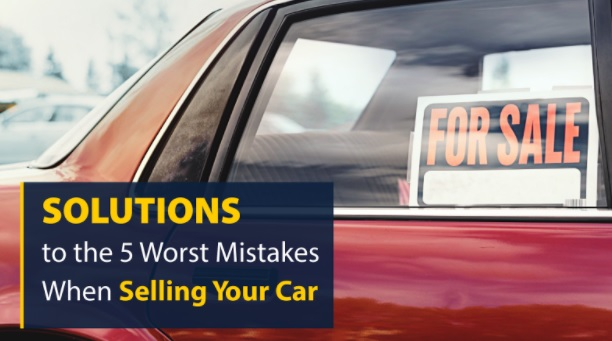 car selling mistakes