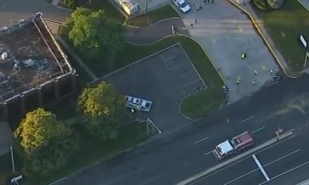 crash in Linden, New Jersey