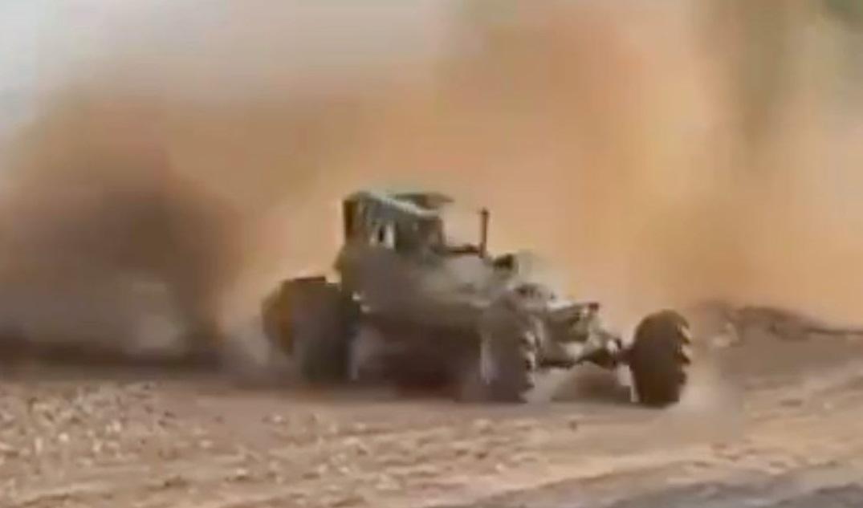 vehicle crash in mud racing event in Texas