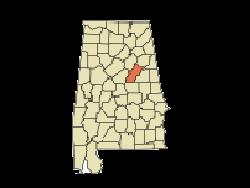 talladega county, alabama