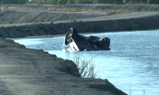 Fresno County canal crash