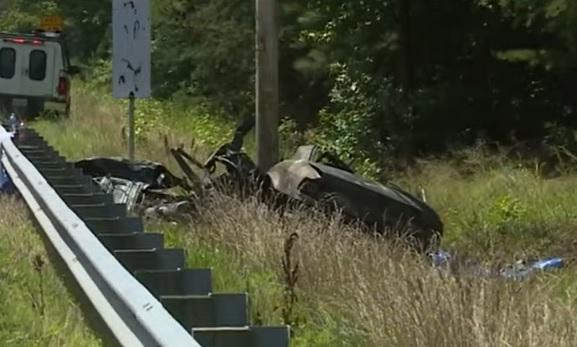 car crash in I-61, New Kent County, Richmond