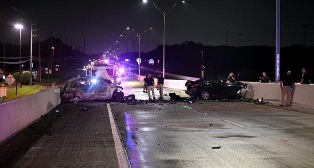 Westpark Tollway crash in Texas