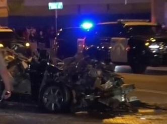 car and big rig crash