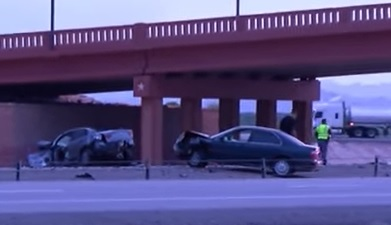 Loop 375 crash in Texas