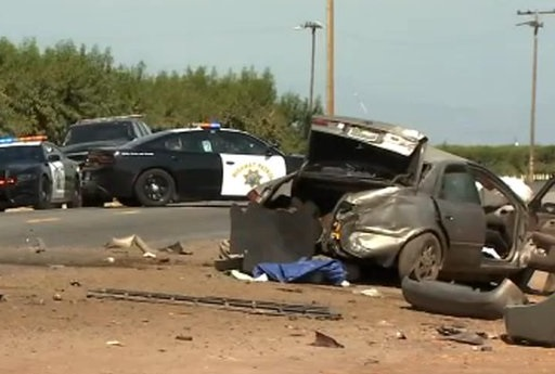 Tulare County crash