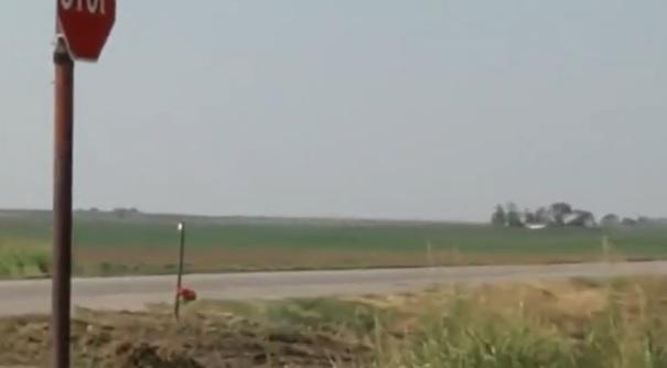 crash in Prowers County, Colorado
