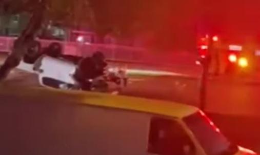 Alleged illegal car race crash in Miami Gardens, Miami-Dade County