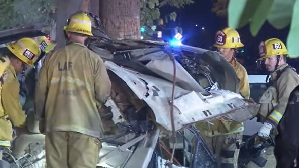 North Hollywood crash